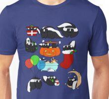 Skunks! Unisex T-Shirt