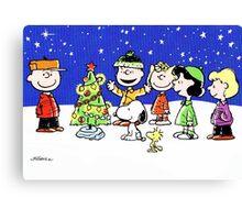 CHARLIE BROWN CHRISTMAS 15 Canvas Print