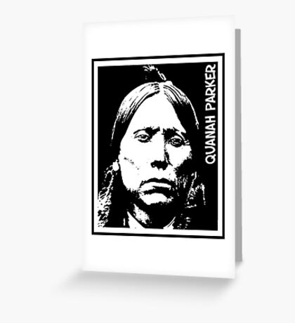 QUANAH PARKER-2 Greeting Card