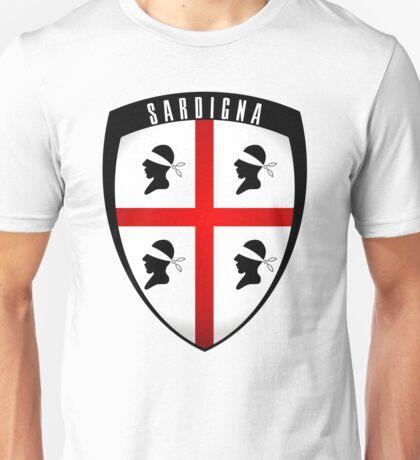 Sardinia - crest Unisex T-Shirt