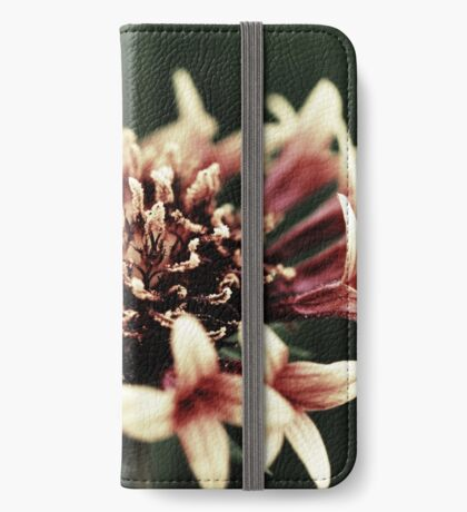 Pink Flower iPhone Wallet/Case/Skin
