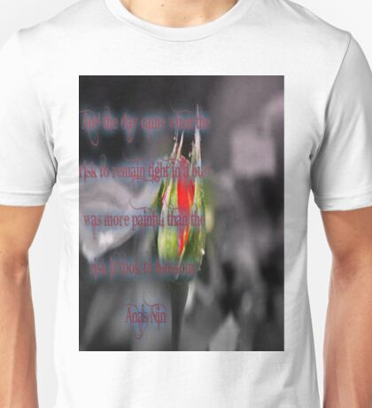 Anais Nin Quote Unisex T-Shirt