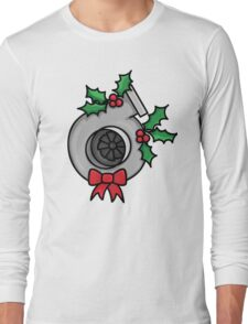 not your typical wreath Long Sleeve T-Shirt