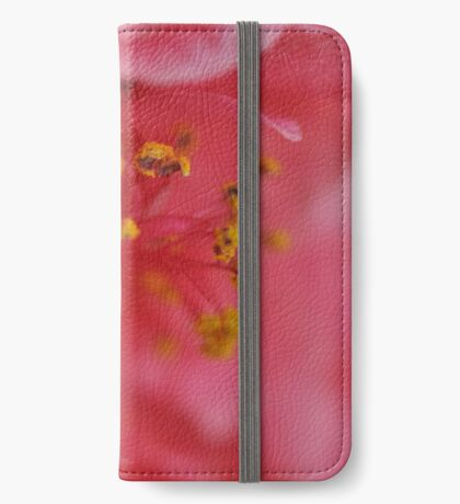 Fluffy Pink Flower iPhone Wallet/Case/Skin