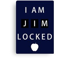 I am JIMLOCKED Canvas Print