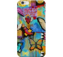 I have wings to fly iPhone Case/Skin