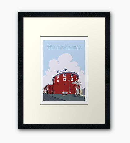 Trondheim Framed Print