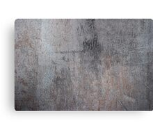 Grunge metal texture Canvas Print