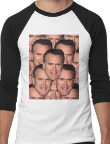 Bruce Campbell Evil Dead Head Shot Men's Baseball ¾ T-Shirt