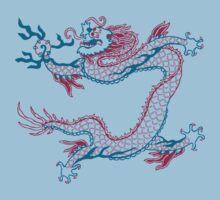 Chinese Dragon (red/green) Kids Tee