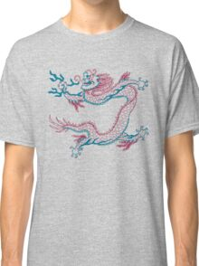 Chinese Dragon (red/green) Classic T-Shirt