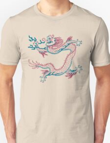 Chinese Dragon (red/green) T-Shirt