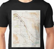 USGS TOPO Map California CA Coachella 297118 1941 62500 geo Unisex T-Shirt