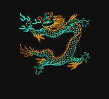 Chinese Dragon (orange/aqua) T-Shirt