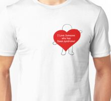 I love someone who has Down syndrome! Unisex T-Shirt