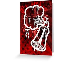 Graffiti Nation Greeting Card