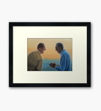 Jack Nicholson and Morgan Freeman in The Bucket List Framed Print