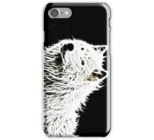 Glowing Wolf  iPhone Case/Skin