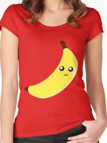 Happy Banana Women's Fitted Scoop T-Shirt