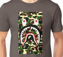 shark bape camo tee Unisex T-Shirt