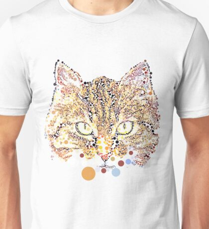 Kitty in Dots Unisex T-Shirt