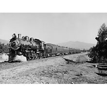Deluxe Overland Limited Passenger Train Photographic Print