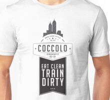 Coccolo Eat Clean Train Dirty CrossFit Unisex T-Shirt