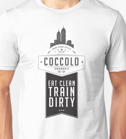 Coccolo Eat Clean Train Dirty CrossFit Unisex T-Shirt