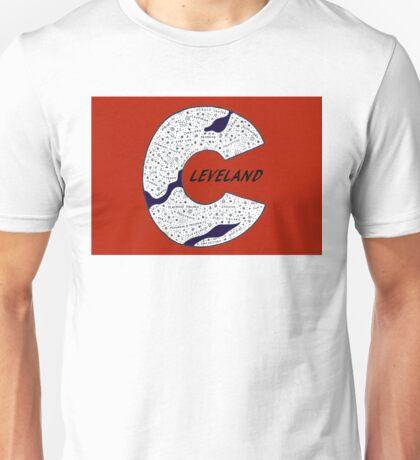 Clevland word art Unisex T-Shirt