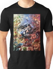 Smash 4 Bayonetta Reveal Illustration Unisex T-Shirt