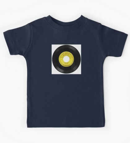 Elvis 45 RPM Record THAT's ALL RIGHT Kids Tee