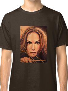 Natalie Portman Painting Classic T-Shirt