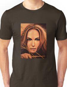 Natalie Portman Painting Unisex T-Shirt