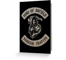 Sons of Anfield - Bahrain Chapter Greeting Card