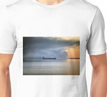 Foggy Morning On Lake Superior Unisex T-Shirt