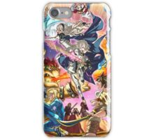 Smash 4 Corrin Reveal Illustration From Fire Emblem Fates iPhone Case/Skin