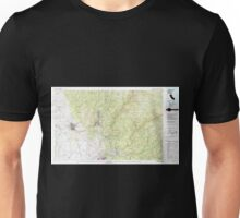 USGS TOPO Map California CA Chico 299064 1980 100000 geo Unisex T-Shirt