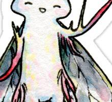 Happy Moth Sticker