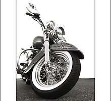 """Harley-Davidson Deluxe"" by Don Bailey"