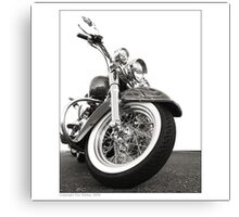"""Harley-Davidson Deluxe"" Canvas Print"