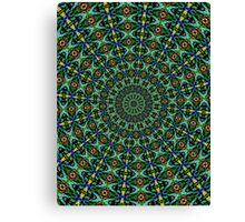 psychedelic digital design pillow Canvas Print