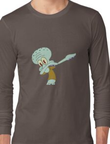Squidward Dab'en on em Long Sleeve T-Shirt