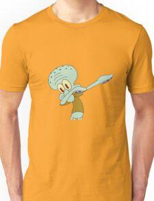 Squidward Dab'en on em Unisex T-Shirt