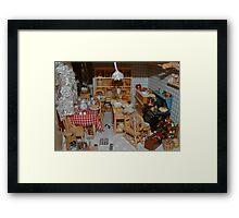 Doll House Kitchen Framed Print