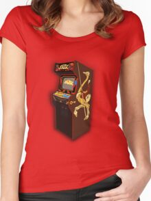 Copper Key Joust Arcade Women's Fitted Scoop T-Shirt