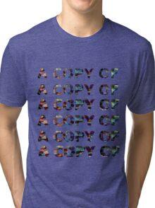 an echo of an echo Tri-blend T-Shirt