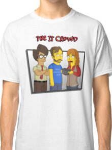 The IT Crowd - Simpsons Style! Classic T-Shirt