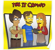 The IT Crowd - Simpsons Style! Poster