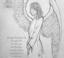 An angel's arms by David Hayes