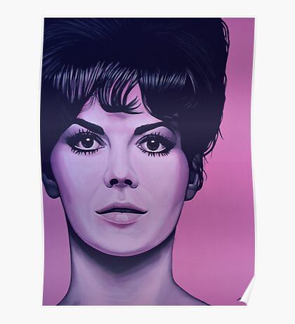 Natalie Wood Painting Poster